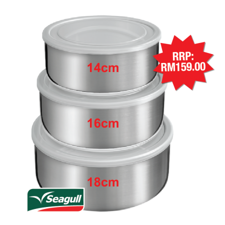 Seagull Food Container Set